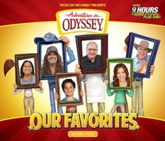 Adventures in Odyssey: Our Favorites, Audio CD's  -