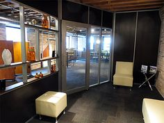 Mix of glass and solid walls for office space - demountable walls options. NxtWall Sustainable - Demountable - Removable Office Walls   Partition Systems