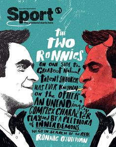 Sport Magazine cover by Peter Strain / magazine cover / editorial design / magazine design