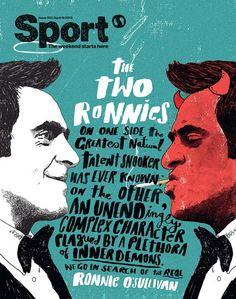 SportMagazine cover byPeter Strain