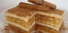 Posna torta od jabuka i keksa Brze Torte, Posne Torte, Torte Recepti, Kolaci I Torte, Vegan Desserts, Vegan Recipes, Cooking Recipes, Cheesecake Ice Cream, Torte Cake