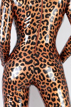 Animal Print Latex catsuit by Simon O. (Detail)