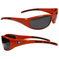 Georgia Bulldogs UV400 Wrap Sunglasses