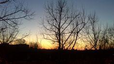 Sunset oh 28th November