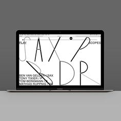 Slawek Michalt's graphic design is inspired by the sounds and ethos of jazz Freelance Graphic Design, Graphic Design Typography, Typography Inspiration, Web Design Inspiration, Web Layout, Layout Design, Design Thinking, Website Design, Website Ideas