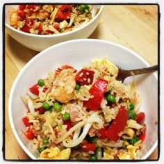 Fried Rice from Michelle Bridges - so good!