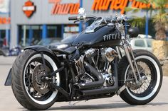 This #Harley Springer Bobber and other Bikes are looking for a new home.