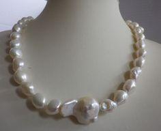 Perlenketten -  Barockperlen  - Collier  Algoma - ein Designerstück von sibea bei DaWanda