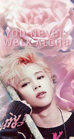 BTS Jimin you never walk alone  phone wallpaper