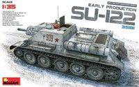 Soviet Su122 Early Production Self-Propelled Tank 1/35 Miniart Models