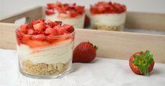 Blog de recetas fáciles paso a paso con vídeo. Dessert Cups, Dessert Table, Candy Table, Mini Cakes, Cupcake Cakes, Cupcakes, Sweet Bar, Food Humor, Mini Desserts