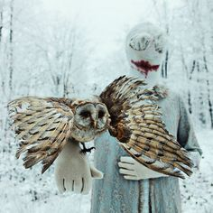 #mothmeister #dekrengloopwinkel #taxidermy #mask check out mothmeister.etsy.com for prints & postcards