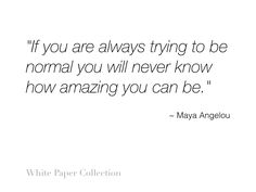 White Paper Collection #inspirationalquote #quote