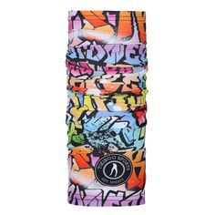 This lightweight TikiTube is a versatile accessory for workout warriors. In a colourful graffiti design, it prevents the weather or sweat from spoiling your training. Protect your face and neck from chills or use it to hold your hair back. Compression Vest, Warrior Workout, Mens Measurements, Fabric Drawing, Graffiti Designs, Running Belt, Small Waist, It's Easy, Workout Tops