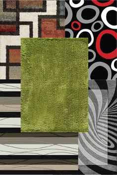 An area rug adds style to any room and a soft place to study in your dorm.