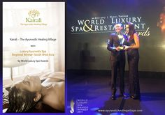 Kairali bags World Luxury Spa Award 2017 Setting a benchmark in quality, innovation and service, Kairali- The Ayurvedic Healing Village, Palakkad, Kerala has once again made us all proud by winning the World Luxury Spa Award 2017. Placed amidst serenity and fragrance, Kairali only aims at offering exceptional service to the people looking at experiencing the ultimate union of Ayurveda, Yoga and Meditation. http://www.ayurvedichealingvillage.com/