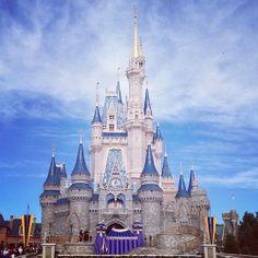 Cinderella's Place #Cinderella #castle #cute