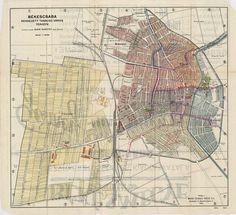 Békéscsaba rendezett tanácsú város térképe [BéML IV B 410 XIV 2020 1928] | Térképek | Hungaricana Malm, Techno, Vintage World Maps, Travel, Viajes, Destinations, Traveling, Trips, Techno Music