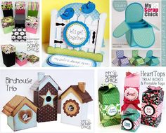 MyScrapChick paper piecing. Printable patterns, GSD, KNK, WPC, SVG cut files.