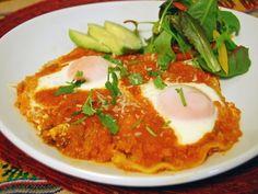 簡単!メキシコの卵料理「ウエボス・ランチェロス」
