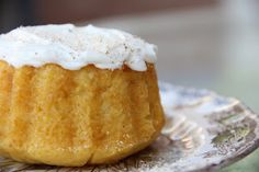 Mix and Match Mama: Bundt Cake #14: Egg Nog