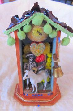 CABALLO colorful mini shrine