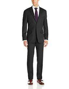 Nautica Men's Classic Fit 2 Button Side Vent Nested Suit, Black, 44 Short Nautica http://www.amazon.com/dp/B011E2O9G8/ref=cm_sw_r_pi_dp_9jhDwb16061WK