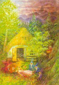 Snow White illustriert von Gabriela de Carvalho