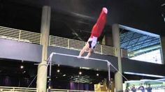 Steven Legendre's #Amazing #Gymnastic Stunt