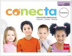 """Cartilla """"Letras y Números"""" (S.M. Conecta, Educación Preescolar, Colombia) Preschool Education, Teaching Resources, Letters, Colombia, Games"""