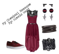"""""""My Chemical Romance"""" by lexieward1434 ❤ liked on Polyvore featuring Vans and Isabel Marant"""