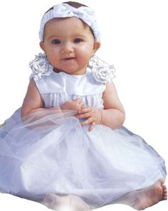 Infant Baby Girl Formal Party Silk Top Dress « Clothing Impulse