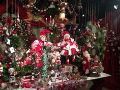 Cuckoo Christmas display from Katherine's Collection Dallas Showroom
