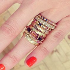 Looking for an aletrnative engagement ring? Look no further! We have a fab range of rings, including these stunners from Polly Wales