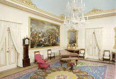 Aranjuez, palacio del Real Deleite. Sala de música