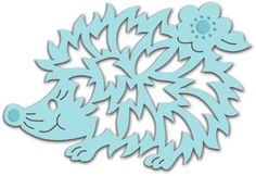 25% OFF SPECIAL: Sweet Dixie Mini Craft Dies - Cute Hedgehog  (SDD123)