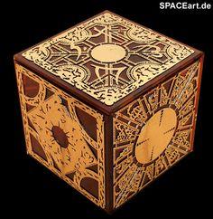 Hellraiser: Pinhead Puzzlebox, Fertig-Modell, http://spaceart.de/produkte/hr012.php