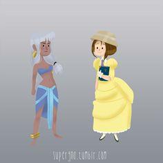 Os adoráveis personagens Disney de Supergna | Just Lia