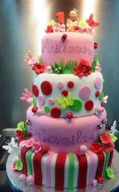 Pink Gerber Birthday Cake Birthday Cakes Girly Cake and