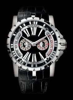 Cellini Jewelers Roger Dubuis Excalibur World Time 18K WG Automatic mvt