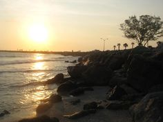 North Jetty Sunset    Venice, Florida