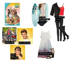 """""""Me in Teen Beach movie"""" by moon-and-back-babe123 ❤ liked on Polyvore featuring Disney, 99 Degrees, Helen Jon, 7 For All Mankind, Christian Louboutin, Topshop, Doma, Vero Moda and Sam Edelman"""