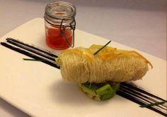 Cannolo di Tonno con marmellata di peperoncino e tartare di avocado. Ricetta dello Chef Gaetano Billeci