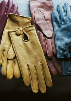 LEATHER GLOVES by TOAST  I covet these