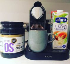 Starting the day with a BOOST! Happy Friday! KETO//OS coming soon to the UK  #keto #ketouk #ketoos #ketoosuk #ketogenic #lchf #lchfuk #lowcarb #pruvit #paleo #banting #bantinguk #almondmilk #nespresso @justpruvit @nespresso @alpro @keto.os.uk #pruvituk - Inspirational and Motivational Ketogenic Diet Pins - Eat Keto Get Into Nutritional Ketosis - Discover LCHF to Prevent Diseases - Enjoy Low-Carb High-Fat Lifestyle For Better Health
