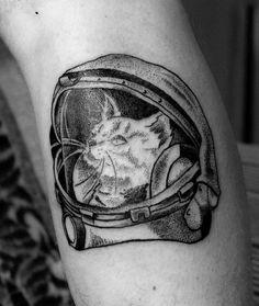 #dotwork #dot #dots #tattoo #ink #inktattoo #tats #art #beskrovnytattoo #татуминск #космокот #cat