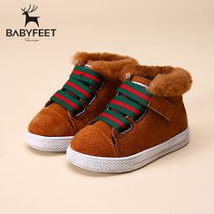 2017 brand designer new warm Suede sport children ankle boots kids girls Winter casual shoes infant boy fashion toddler sneakers-in Boots from Mother & Kids on Aliexpress.com   Alibaba Group