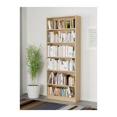 BILLY Boekenkast, berkenfineer berkenfineer 80x28x202 cm