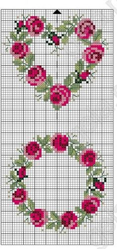 Thrilling Designing Your Own Cross Stitch Embroidery Patterns Ideas. Exhilarating Designing Your Own Cross Stitch Embroidery Patterns Ideas. Cross Stitch Heart, Cross Stitch Borders, Cross Stitch Flowers, Cross Stitch Designs, Cross Stitching, Cross Stitch Embroidery, Embroidery Patterns, Cross Stitch Patterns, Border Embroidery
