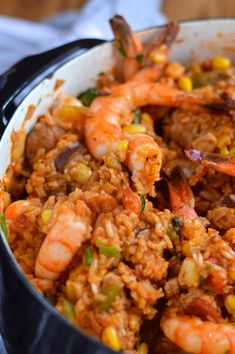 Creole red jambalaya with chicken, shrimp, & andouille. Listen to The Outdoor Cooking Show Sunday afternoons - PM on KPRC 950 AM in Houston, or via streaming media via the iHeart radio app. If you can't listen live, podcasts are available via iTunes. Creole Recipes, Cajun Recipes, Seafood Recipes, Cooking Recipes, Healthy Recipes, Haitian Recipes, Donut Recipes, Healthy Options, Cajun Dishes